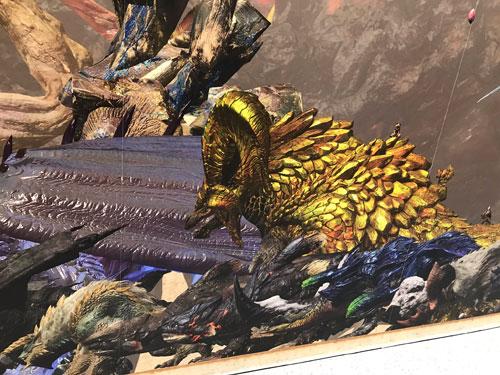 怪物猎人15周年展照片2