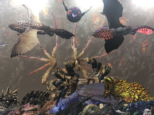 怪物猎人15周年展照片3