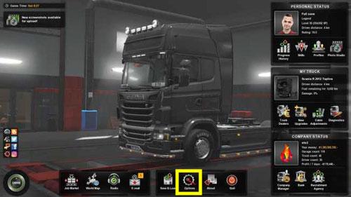 欧洲卡车模拟2设置中文截图1