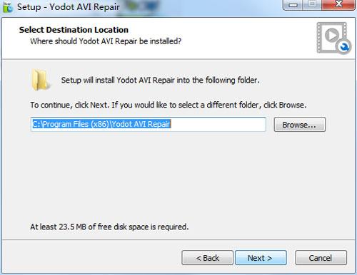 Yodot AVI Repair2