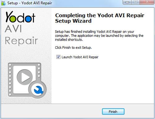 Yodot AVI Repair6