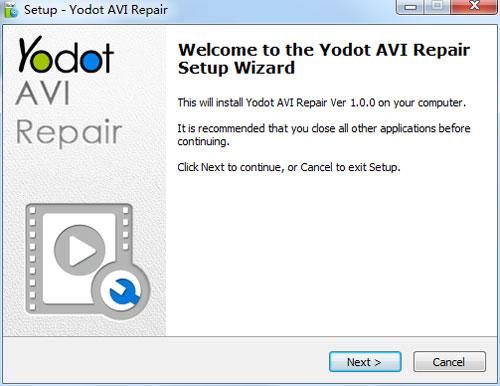 Yodot AVI Repair7
