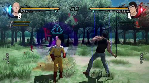 《一拳超人:无名英雄》游戏截图5