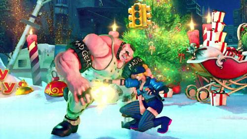 《街头霸王5:冠军版》游戏截图2