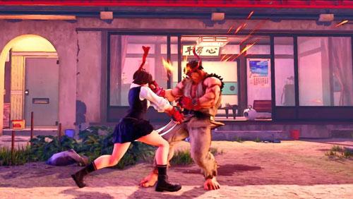 《街头霸王5:冠军版》游戏截图5