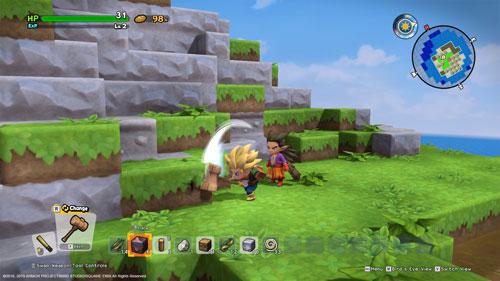 《勇者斗恶龙:建造者2》游戏截图1