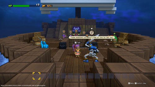 《勇者斗恶龙:建造者2》游戏截图3