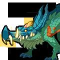 变异的毒鳄龙
