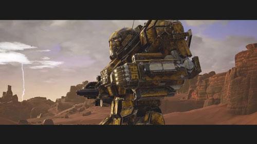 《机甲战士5:雇佣兵》游戏截图1