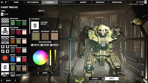 《机甲战士5:雇佣兵》游戏截图6