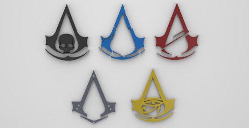 《刺客信条》logo