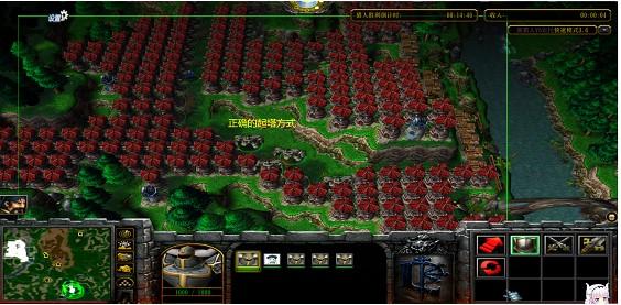 魔兽争霸3新猎人vs农民地图截图0