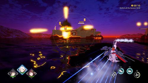 《碧蓝航线Crosswave》游戏截图2