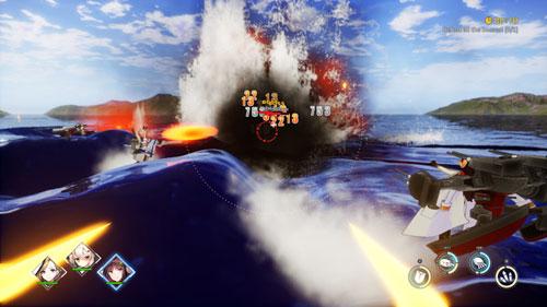 《碧蓝航线Crosswave》游戏截图4