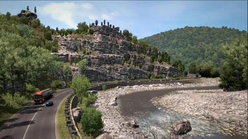 《欧洲卡车模拟2》游戏截图3