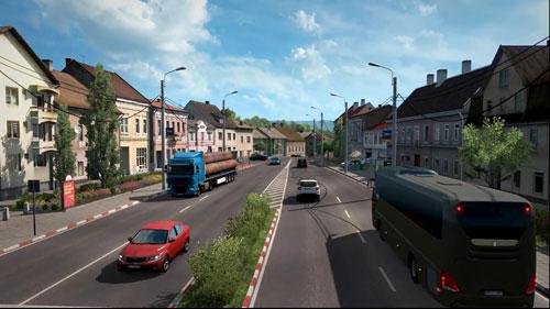 《欧洲卡车模拟2》游戏截图2