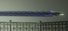 噬血代码银白狼王大剑MOD截图0
