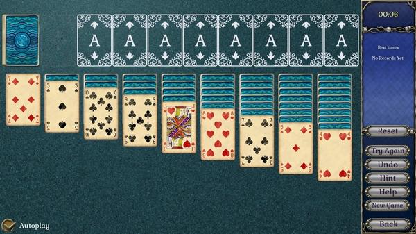 宝石配对:亚特兰蒂斯纸牌截图2