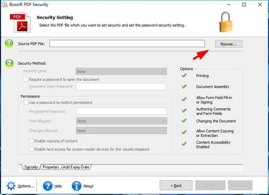 Boxoft pdf Security�DƬ