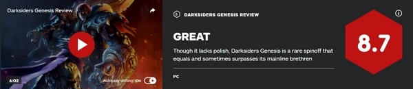 暗黑血统创世纪IGN评分图片