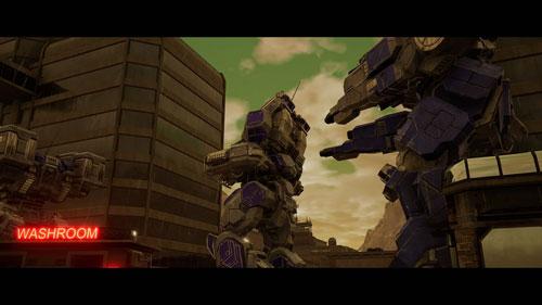 《机甲战士5:雇佣兵》游戏截图2
