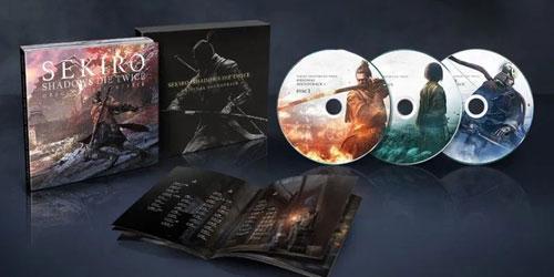 《只狼:影逝二度》原声碟以及小册子截图1