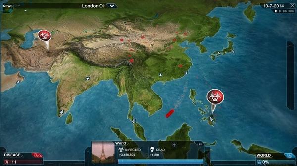 瘟疫公司进化游戏图片