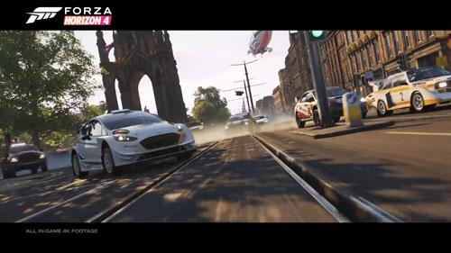 《极限竞速:地平线4》游戏截图2