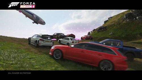 《极限竞速:地平线4》游戏截图4