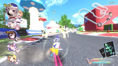 《幻走空中竞速》游戏截图1