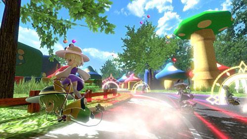 《幻走空中竞速》游戏截图2