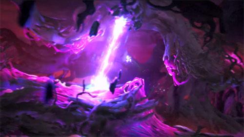 《奥日与鬼火意志》游戏视频截图4