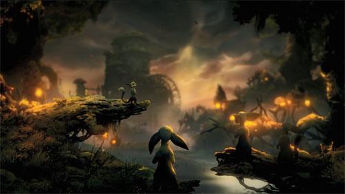 《奥日与鬼火意志》游戏视频截图5