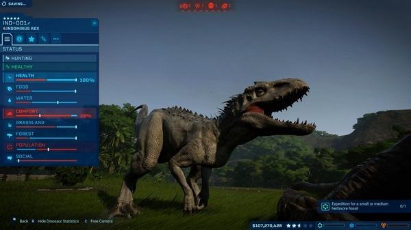 侏罗纪世界进化游戏截图