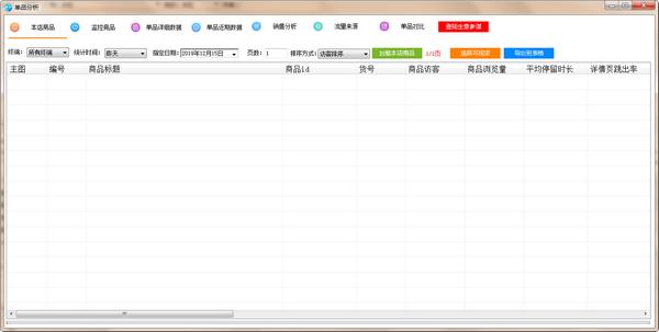 淘宝单品分析软件图片