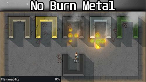 边缘世界金属不再易燃MOD截图0