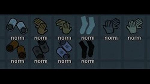 边缘世界手套靴子袜子MOD截图0