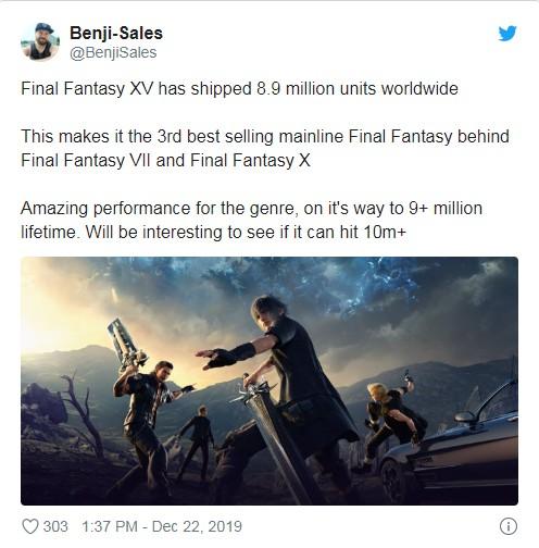 最终幻想15推特图片
