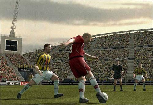 实况足球8游戏截图3