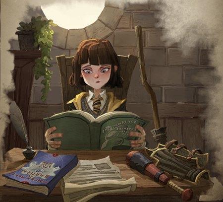 哈利波特魔法觉醒罗宾