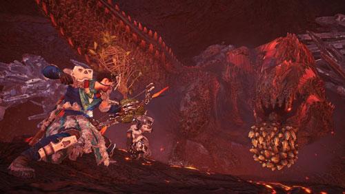 《怪物猎人:世界》地平线联动截图2