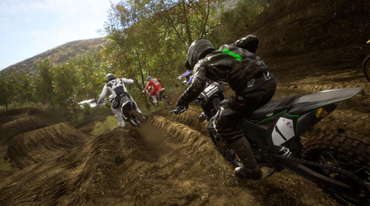 野兽越野摩托车2游戏截图