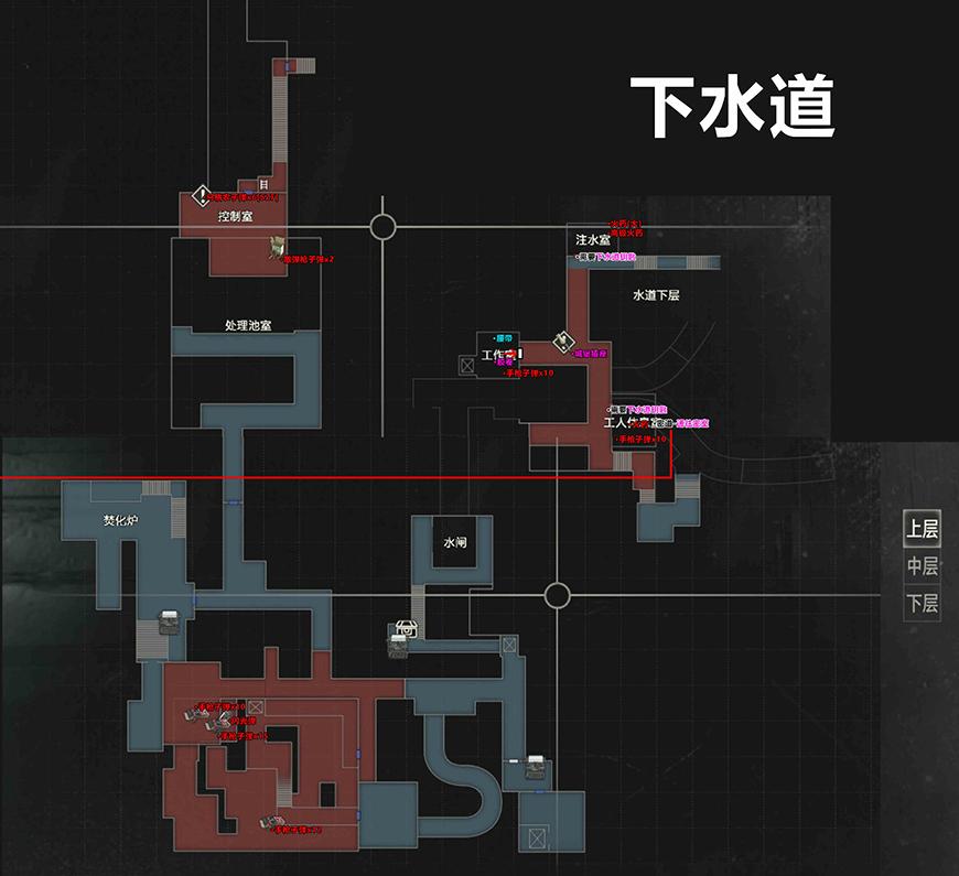 生化危机2重制版地图8