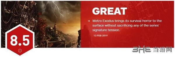地铁逃离IGN评分图片