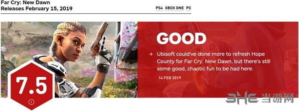 孤岛惊魂新曙光IGN评分图片