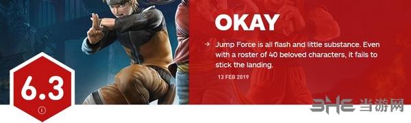 Jump大乱斗IGN评分图片