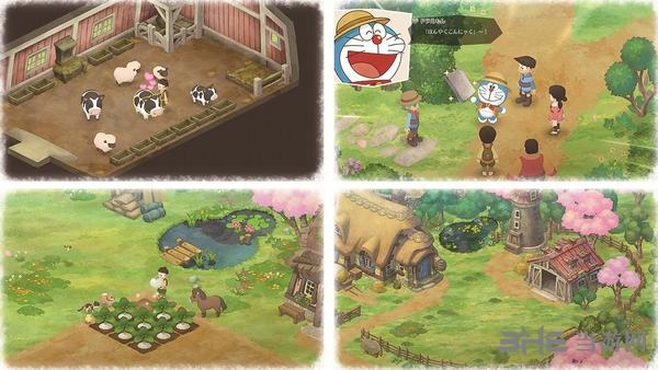 哆啦A梦牧场物语截图