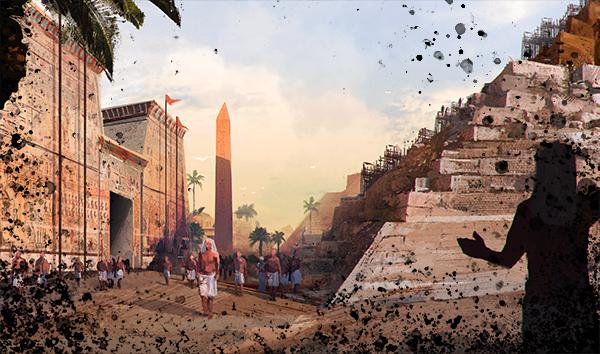 埃及建造者原画1