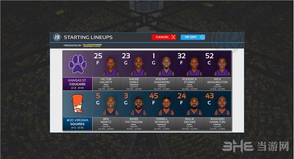 选秀日运动:大学篮球2019截图1