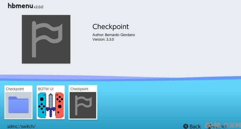 ns存档管理器checkpoint截图0